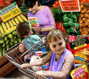 High level of pesticides toxins and heavy metals in foods