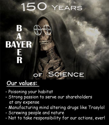 pharmaceutical biotech chemical companies Bayer - 독극물 GMO, 몬산토, 바이엘 7 - 전범기업 바이엘 1