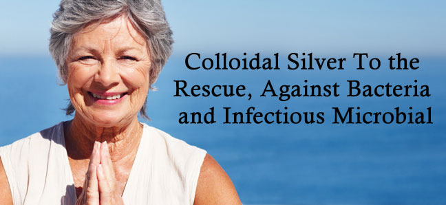 silver against bacteria and infectious microbial